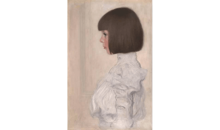 へレーネ・クリムトの肖像