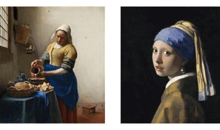 フェルメールの代表絵画