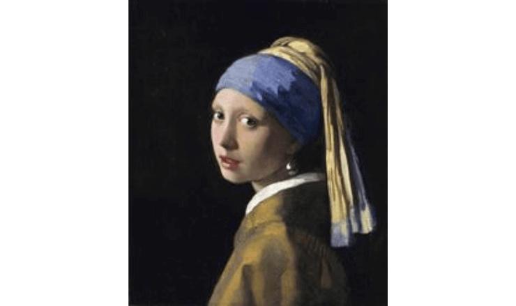 青いターバンの少女/真珠の耳飾りの少女