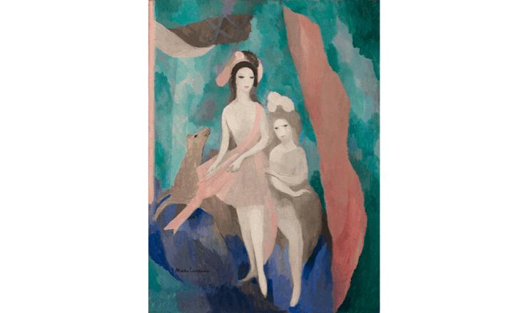 フランス人女性アーティストの絵画