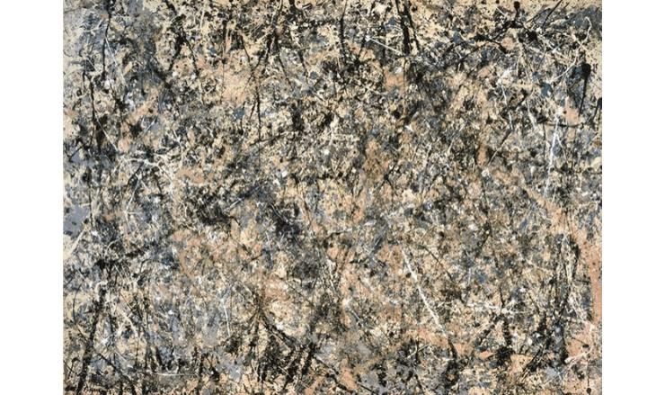 ジャクソン・ポロックの抽象画