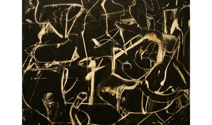 ウィレム・デ・クーニングの抽象画