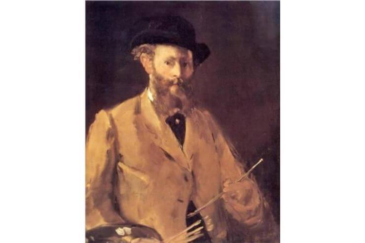 マネの肖像画
