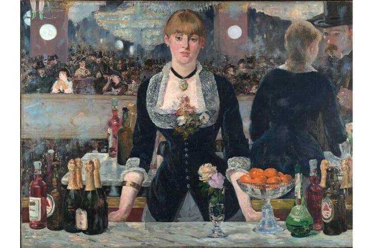 フォリー・ベルジェールのバー(A Bar at the Folies-Bergere)