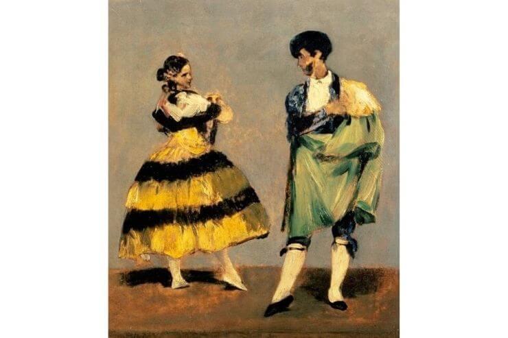 """スペインの舞踏家"""""""""""