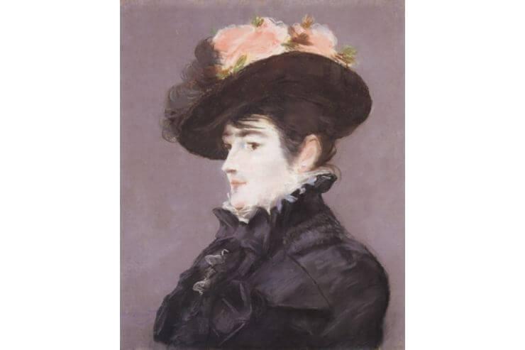 黒い帽子のマルタン夫人