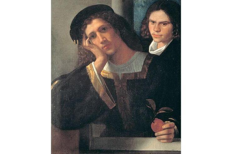 2人の青年の肖像