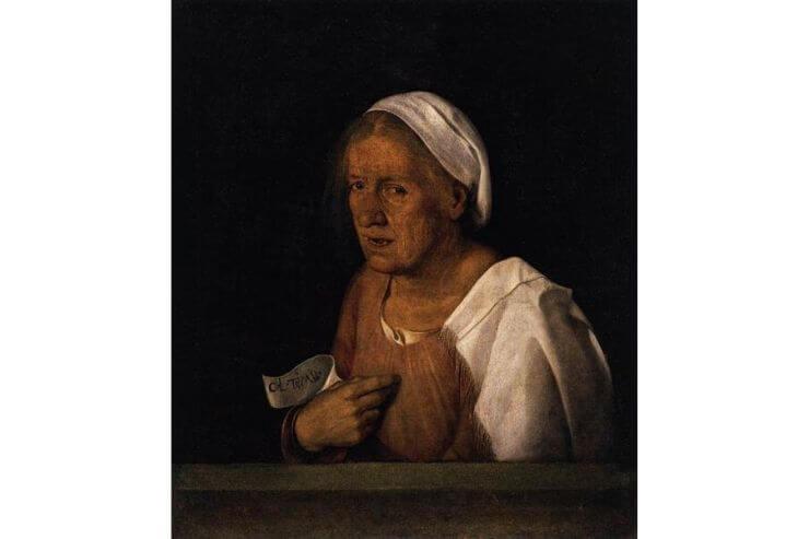 老女の肖像