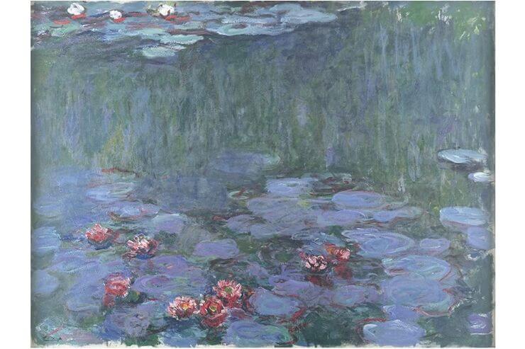アサヒビール大山崎山荘美術館の絵画