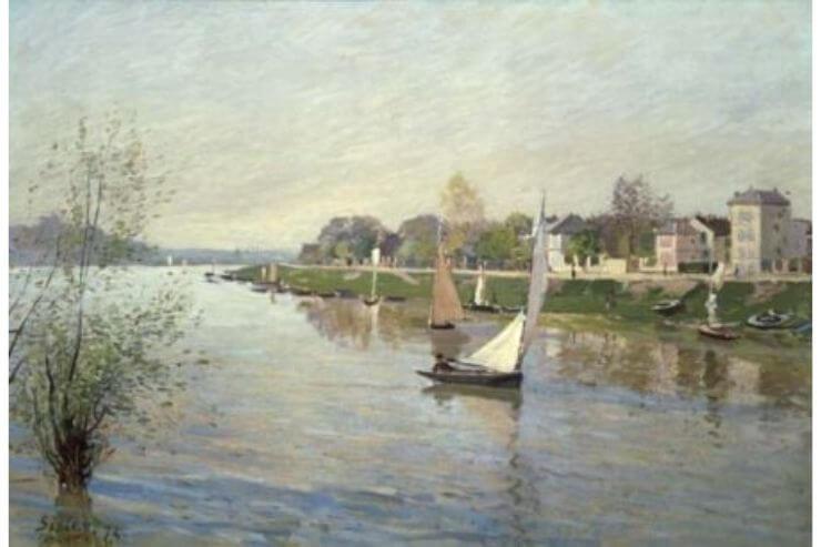 シスレー・アルジャントゥイユのセーヌ河