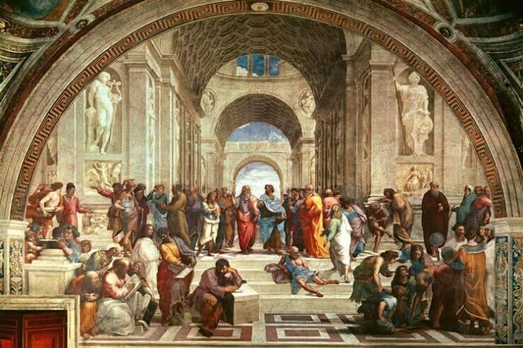 アテネの学堂