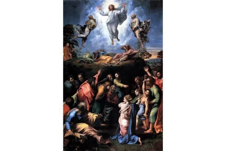 ラファエロ・サンツィオの遺作『キリストの変容』