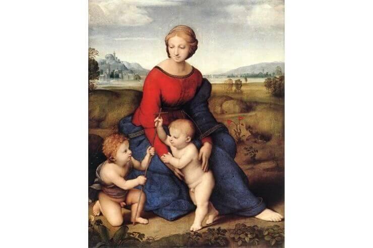 草原の聖母