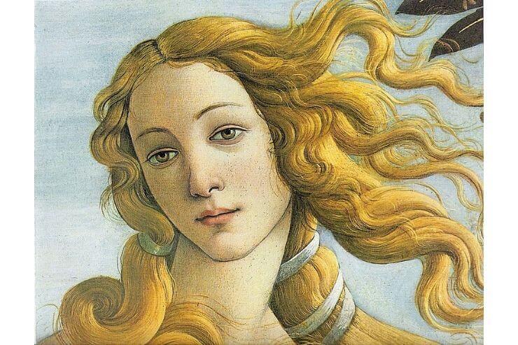 ヴィーナスの誕生のヴィーナス