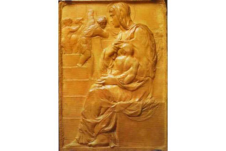 階段の聖母