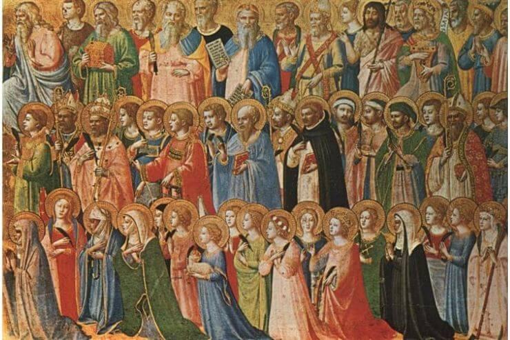 天の宮で栄光を受けたキリスト
