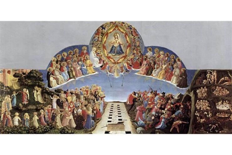 フラ・アンジェリコの「最後の審判」