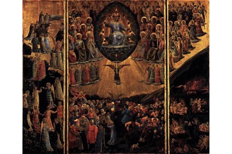 フラ・アンジェリコのもう一つの「最後の審判」(1450年制作)